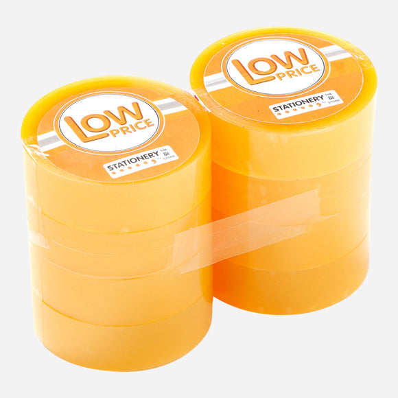 Low Price Clear Tapes 18mmx50M 1