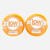 "Low Price Clear Tapes 18mmx50M 1"" Core Pack of 8"
