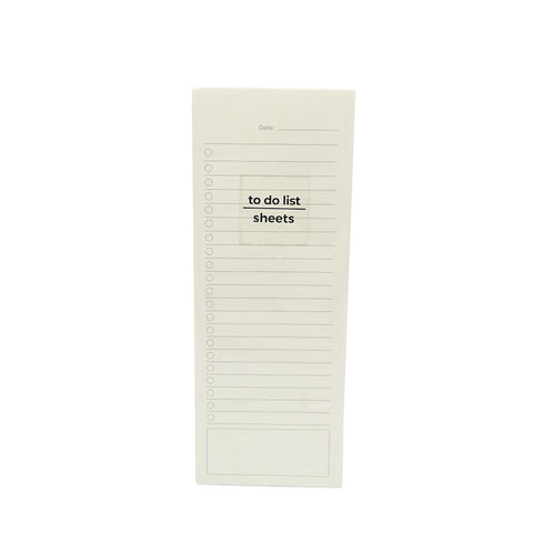 To do List Padded Memo Pad
