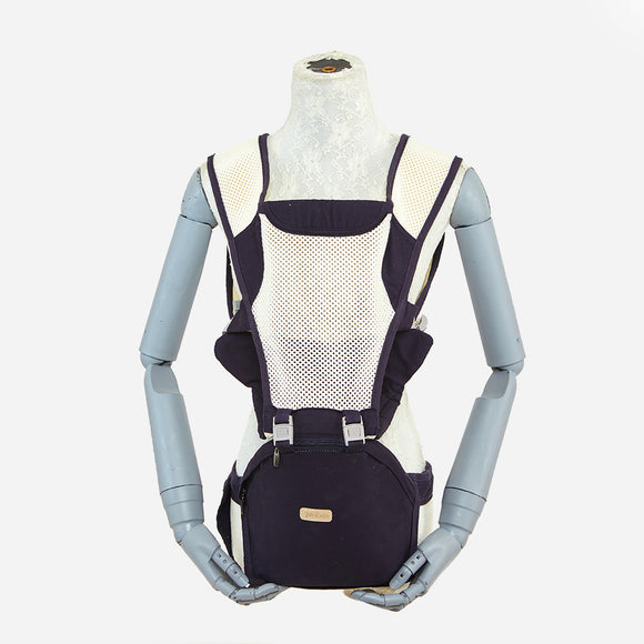 Picolo 6-Way All Mesh Hip Seat Baby Carrier Navy