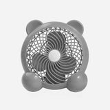 Baby Company Bear Design Usb Fan Gray