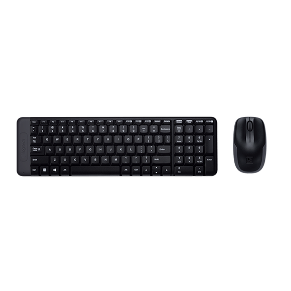 Logitech Wireless Combo MK220 Black