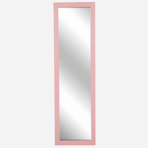 Over The Door Mirror (Pink) - 12x48