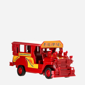 "Kultura Model Jeepney 5"" - Red"