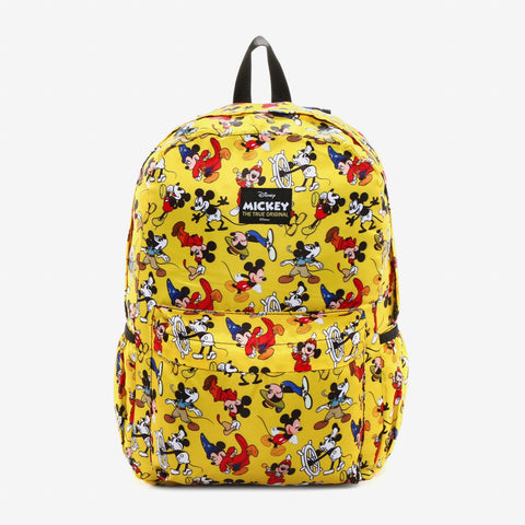 Mickey Mouse Backpack Multi Print Yellow