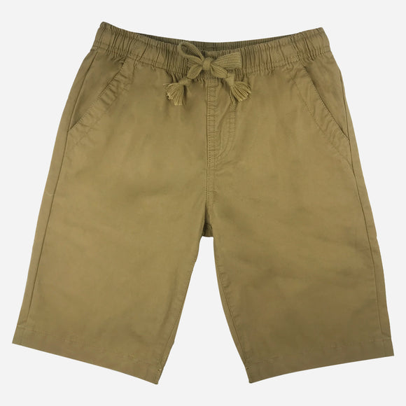 JUST JEANS BOYS' EASY SHORTS IN KHAKI