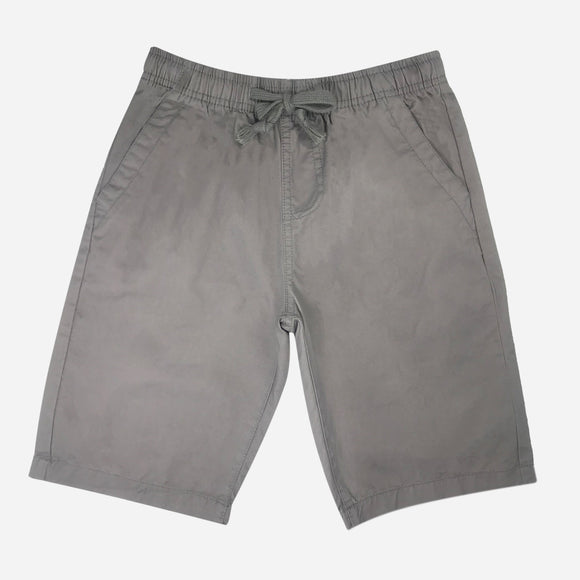 JUST JEANS BOYS' EASY SHORTS IN GRAY