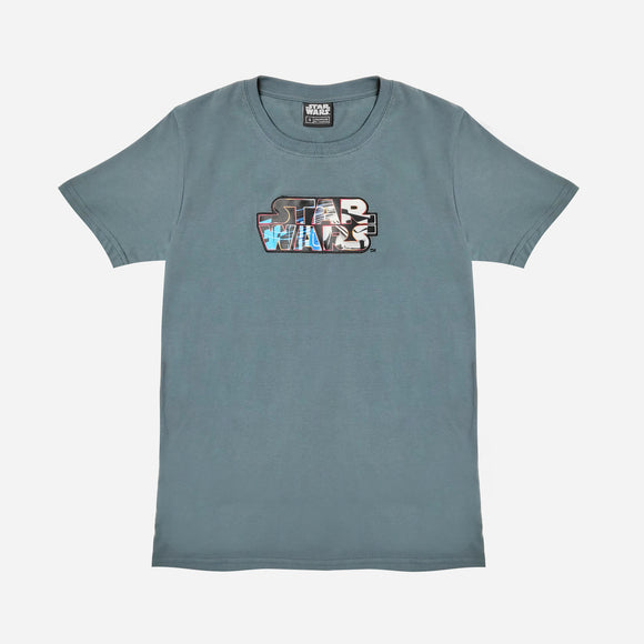 Starwars Trooper Logo Print Tee