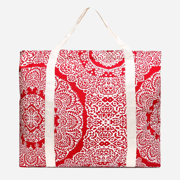 Travel Basic Quinn L89K Printed Tote Bag