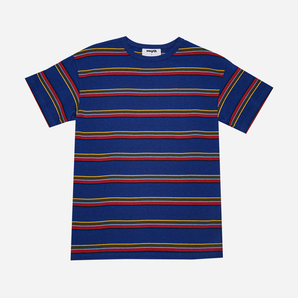 Smyth Horizontal Striped Tee Blue