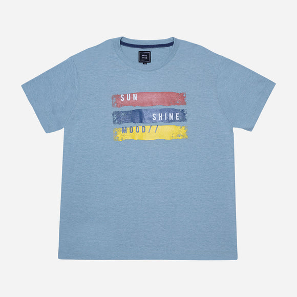 Men's Club Sunshine Mood Print Tee