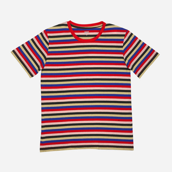 Tee Culture Stripe Tee Red