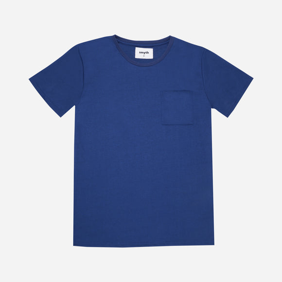 Smyth Basic Pocket Tee Blue