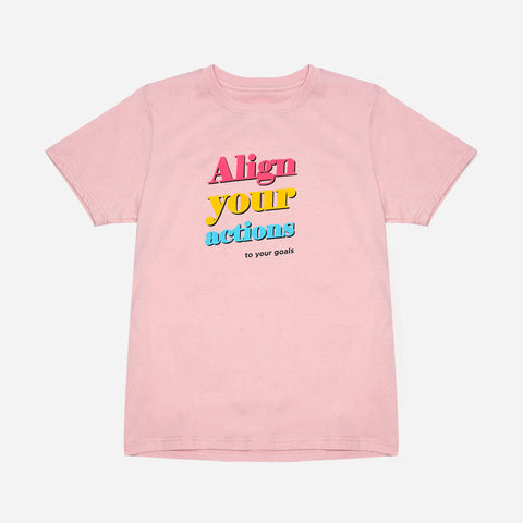 Tee Culture Align your Actions Print Tee