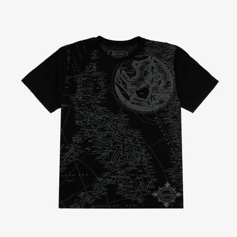 Halu Halo Nautica Map Graphic Tee