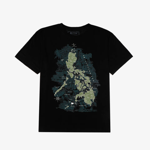 Halu Halo Philippine Map Graphic Tee