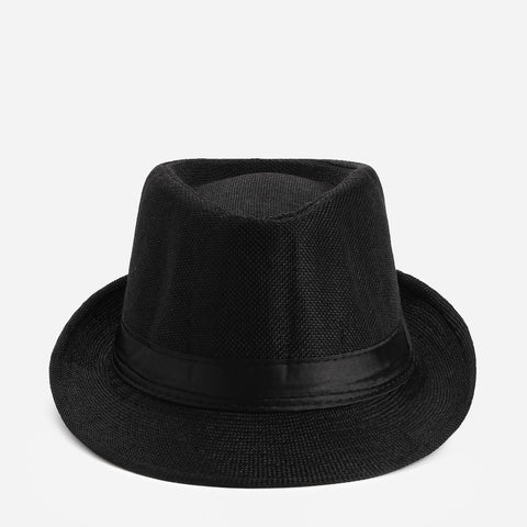 Tropiko Men's Classic Fedora Fabric Hat