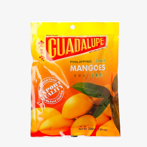 Guadalupe Dried Mangoes 200 Grams