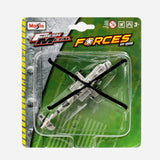 Maisto Fresh Metal Forces Sky Squad (Ah64A) Helicopter Toy For Boys
