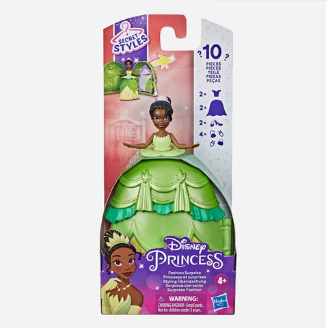 Disney Princess Tiana Fashion Surprise Toy For Girls