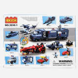 Cogo 3036 1 Police 116Pcs Building Blocks Toy For Kids