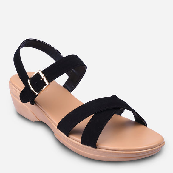 Parisian Women's Ferisa Mid-Wedge Sandals