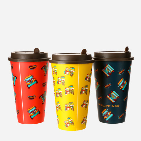 Kultura Set of 3 PH Transpo Tumblers