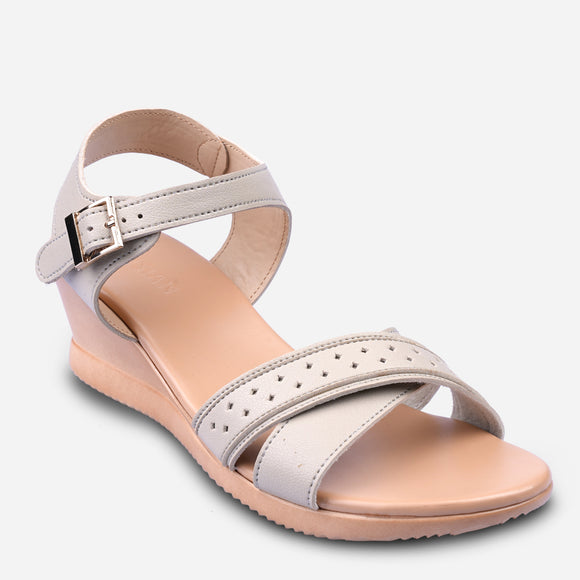 Parisian Women's Ferile Mid-Wedge Sandals