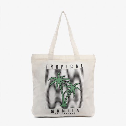 Kultura Tropical Lines Tote Bag