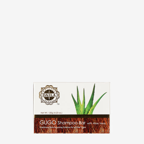 Daila Gugo Shampoo Bar with Aloe Vera 120g
