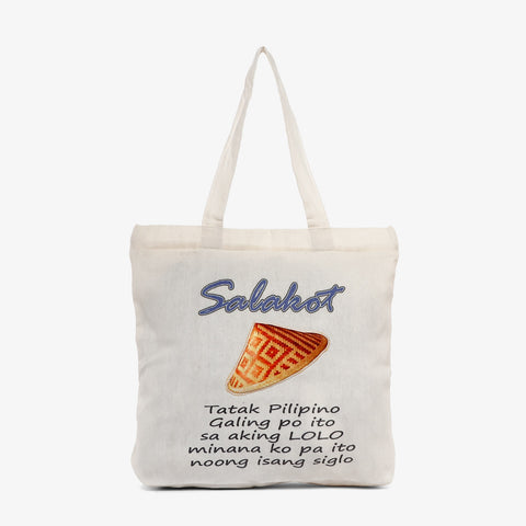 Kultura Salakot Patch Tote Bag