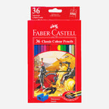 Faber Castell Classic Colour Pencils 36 Colors