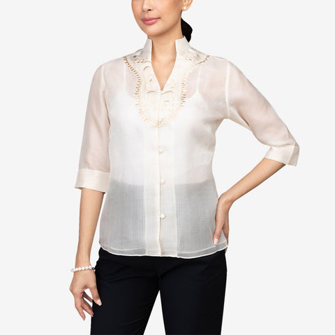 Tygie Women's Cocoon Barong