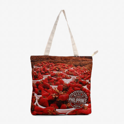 Kultura Strawberry Farm Tote Bag