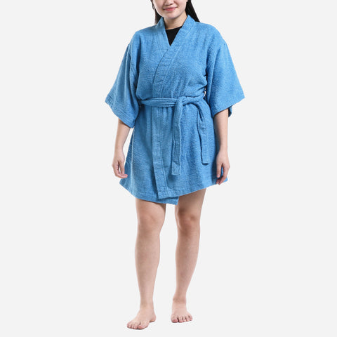 Canadian 30 Series Terry Bathrobe Ocean Size 1