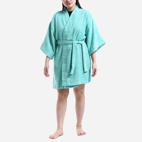 Canadian 30 Series Terry Bathrobe Sea Spray Size 2