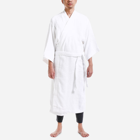 Canadian 30 Series Terry Bathrobe White Free Size