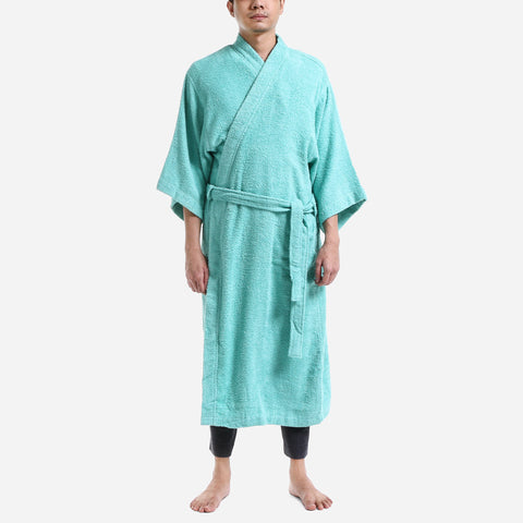 Canadian 30 Series Terry Bathrobe Sea Spray Free Size