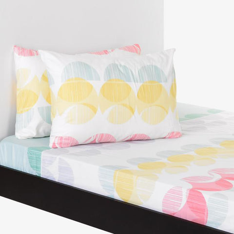Kingston 3PC Bedsheet Set King - Abstract Circle