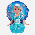 Sparkle Girlz Winter Princess Cone Doll Blue Toy For Girls