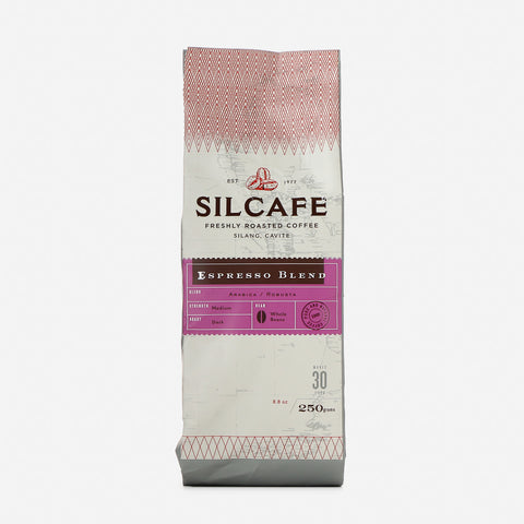 Silcafe Espresso Blend Medium Dark Roast 250g