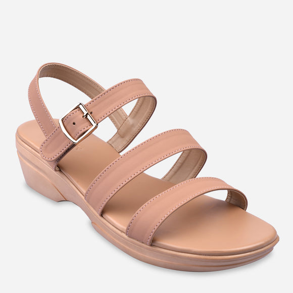 Parisian Women's Ferida Mid-Wedge Sandals