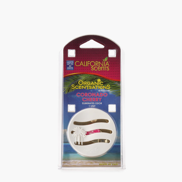 California Scents Organic Sensations Air Freshener - Coronado Cherry