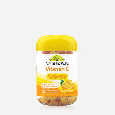 Nature'S Way Vitamin C Vitagummies Food Supplement 310G - Orange