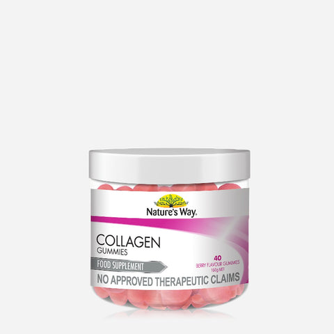 Nature'S Way Collagen Gummies Food Supplement 160G - Berry
