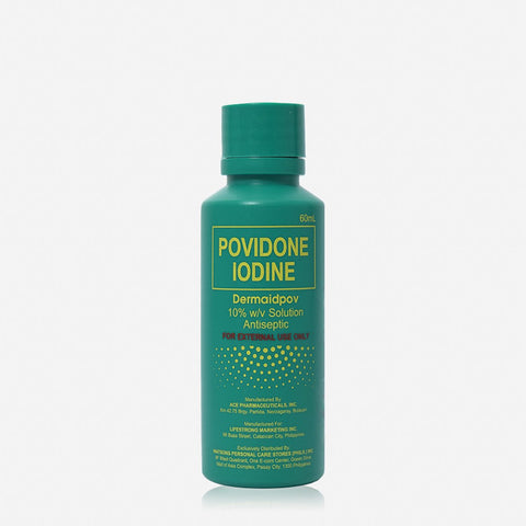 Dermaid Povidone Iodine 10% 60Ml