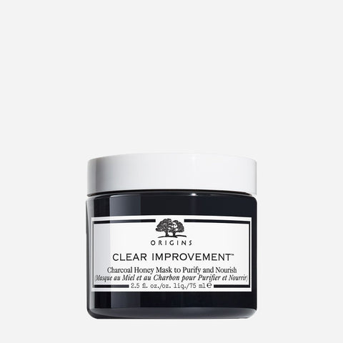 Origins Clear Improvement Charcoal Honey Mask To Purify & Nourish 75Ml