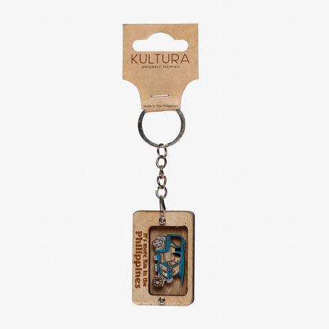 Kultura It's More Fun Tricycle Keychain