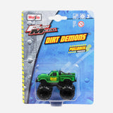 Maisto Fresh Metal Dirt Demons  Green Vehicle Toy For Boys