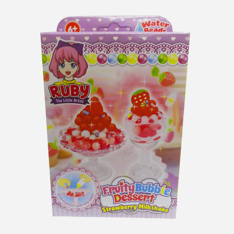 Fruit Bubble Dessert Strawberry Milkshake Toy For Girls